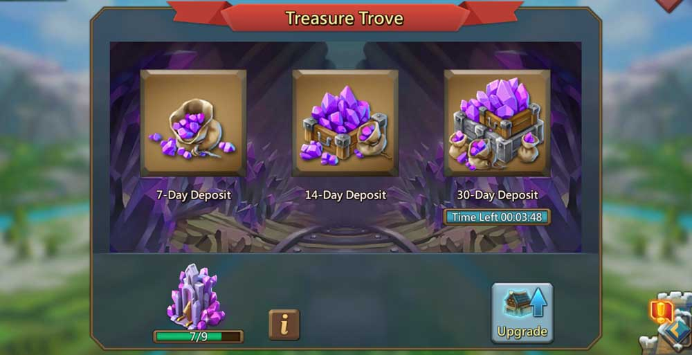 Treasure Trove Gem Deposit