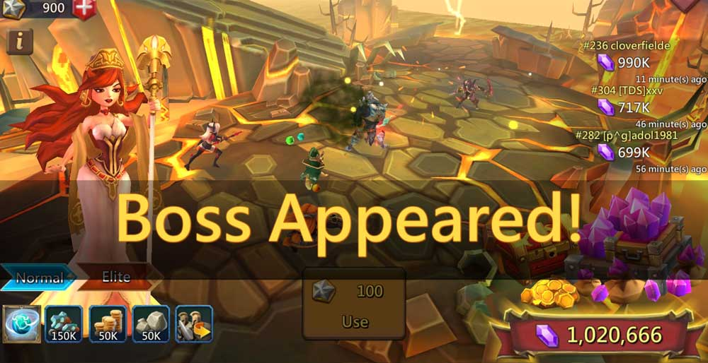Boss Appeared in Labyrinth