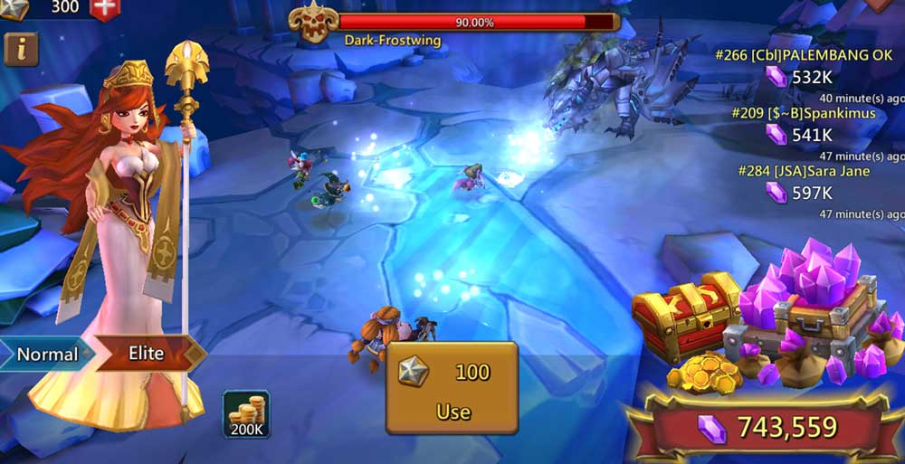 Labyrinth Lords Mobile Screen