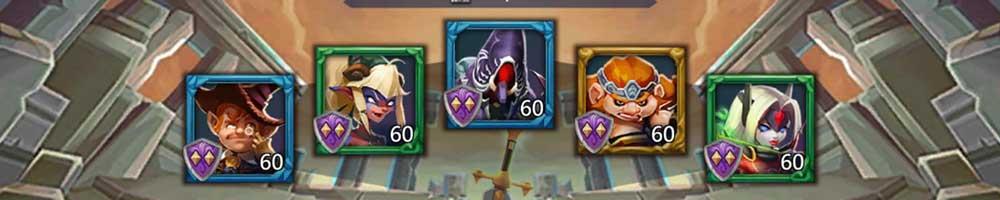 Voodoo Shaman Hero Lineup