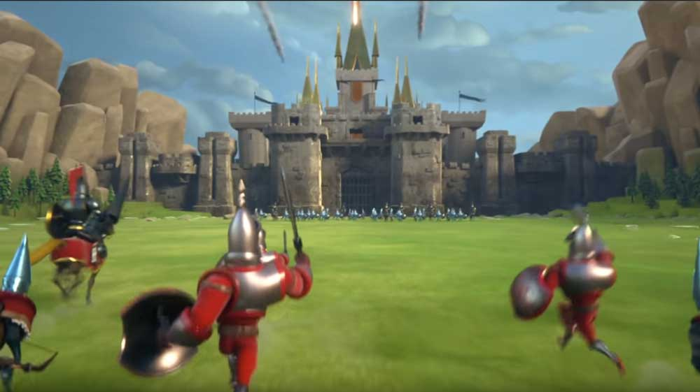 Castle Under Attack in Lords Mobile
