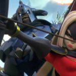 Death Archer Shooting Arrows War