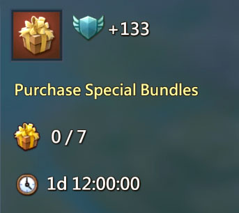 7 Purchase Bundles