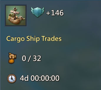 Cargo Ship Trading 146 Points