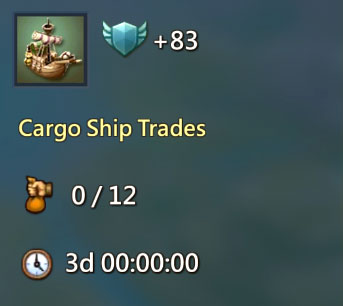 Cargo Ship Trades Quest