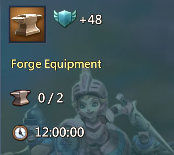 Forge Equipment 48 points