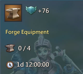 Forge Equipment 76 Points