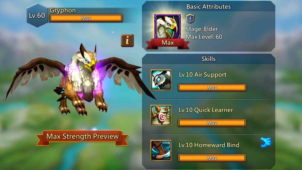 Gryphon Familiar Max Strength Screen