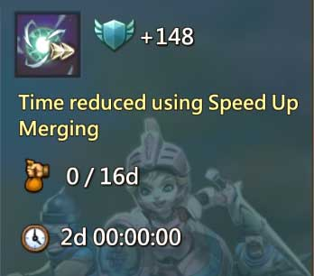 Time Reduced Using Speed Up Merging
