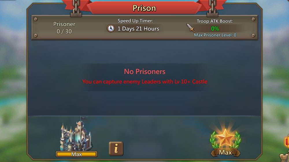 Prison Capturing Screen