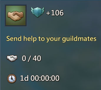 Send Help to Guildmates 106
