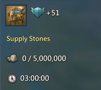 Supply Stone 51 Points