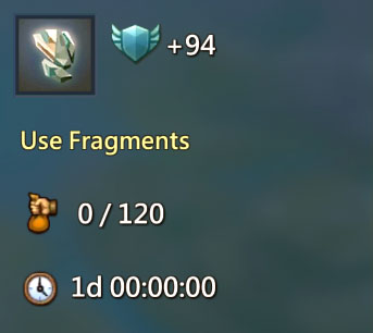 Use Fragments Quest