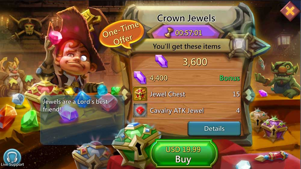 Crown Jewel Chest