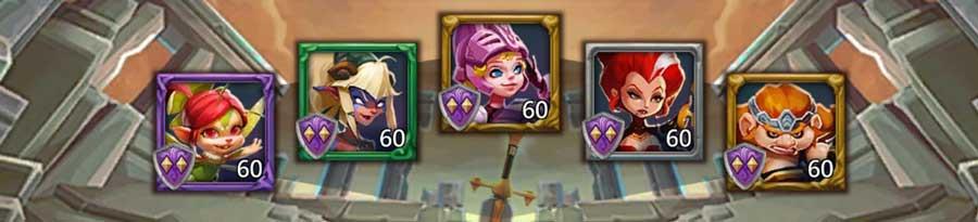 Heroes-Lineup for Elite 7-9 Expert