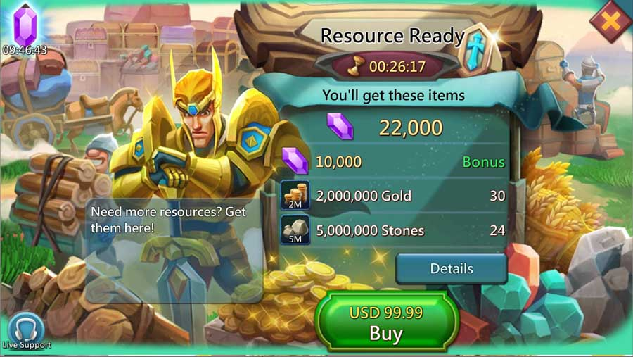 Resource Ready Pack from Store