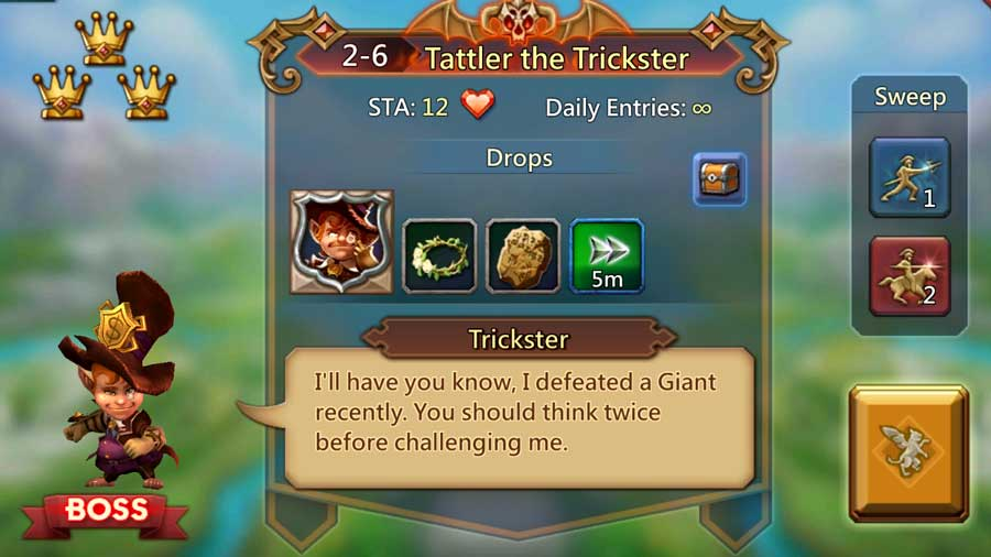 Elite 2-6 Trickster Unlock