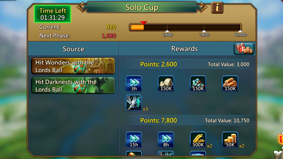 Solo Cup Lords Mobile