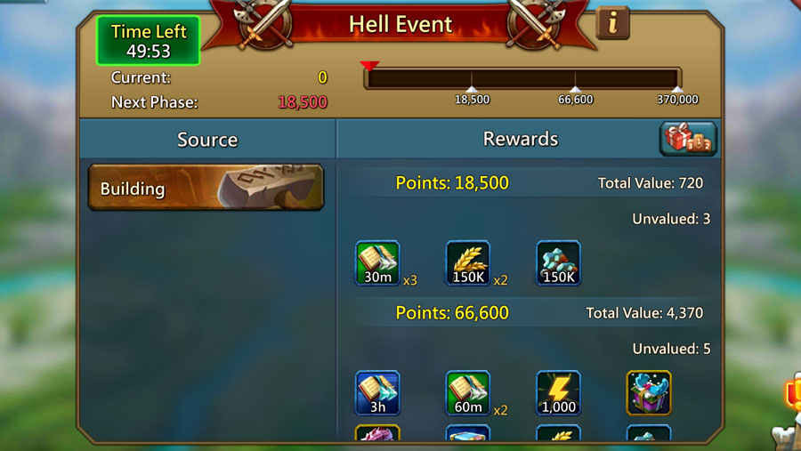 Hell Event Building