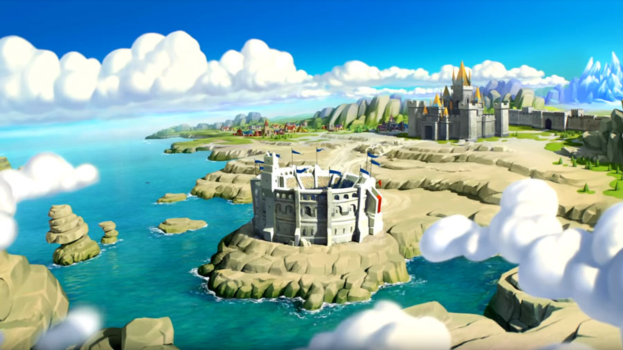 Map of Castle in Lords Mobile