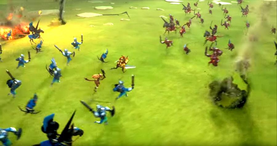 Troops in Battle