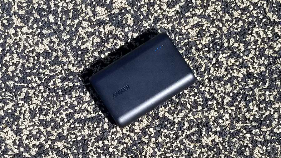 Anker Powercore 10000 on Gravel