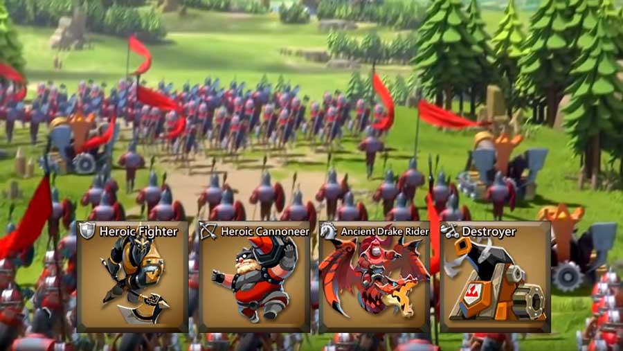 T4 Army in battle