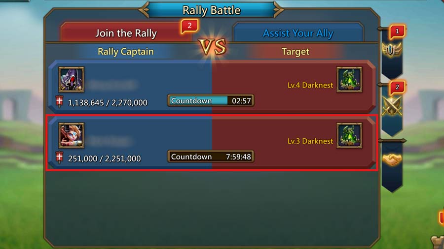 Fake Rally on Darknest
