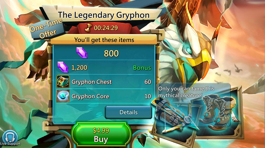 Gryphon Paid Pack