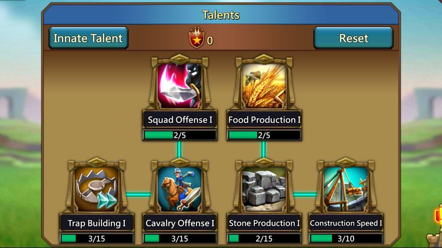 Talent Tree Updates