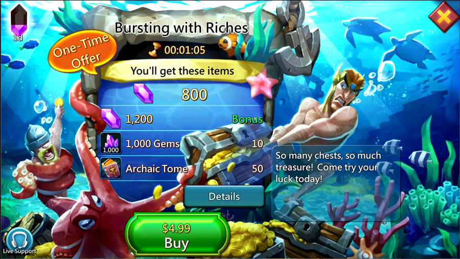 Bursting With Riches Pack