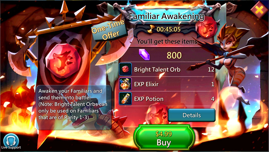 Familiar Awakening Pack