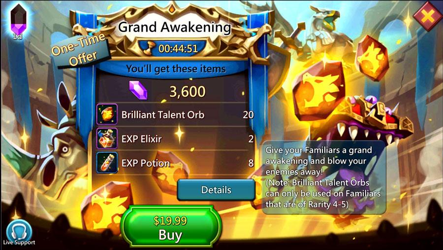 Grand Awakening Pack