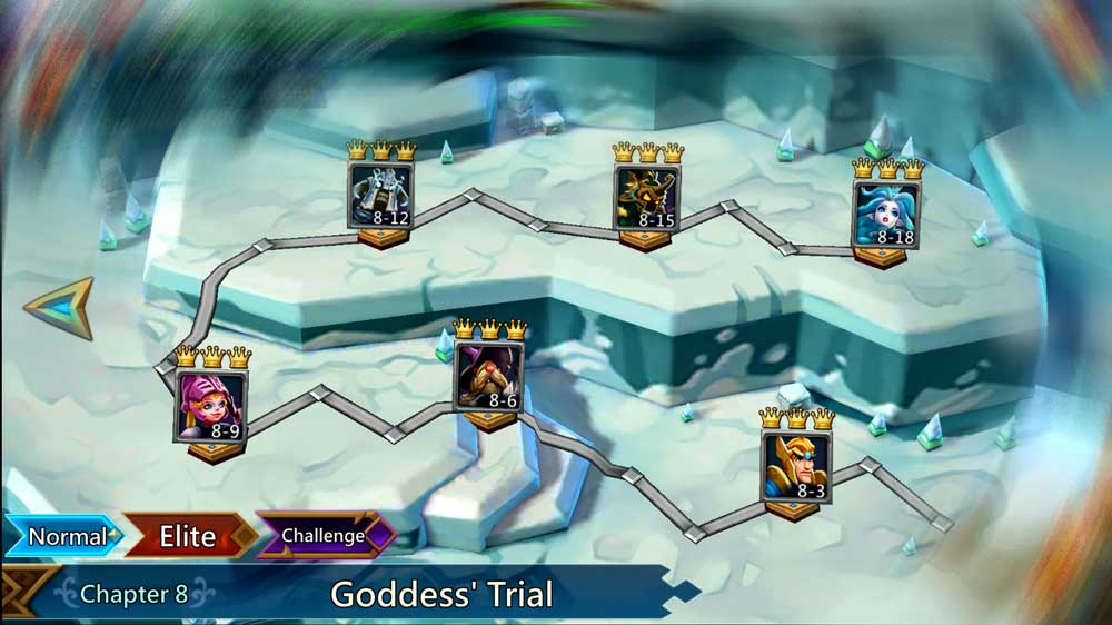 Elite Stage 8 Goddess Trial Lords Mobile
