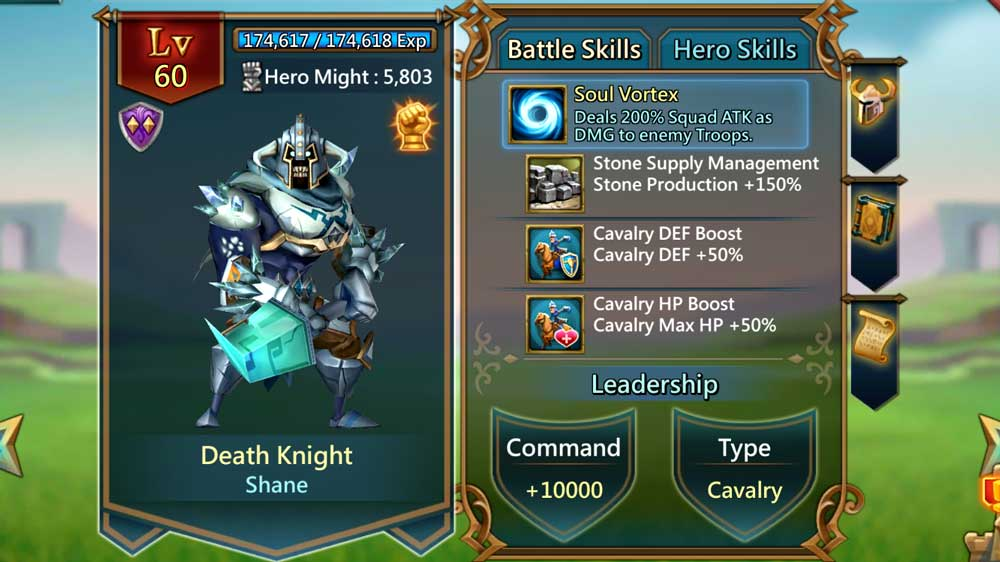 Death Knight Battle Skills