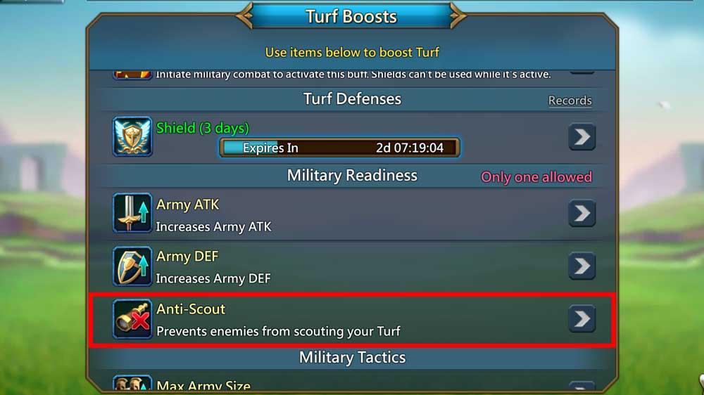 Anti Scout Step 2