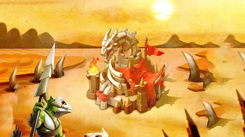 Dragon Arena Castle Skin Graphic