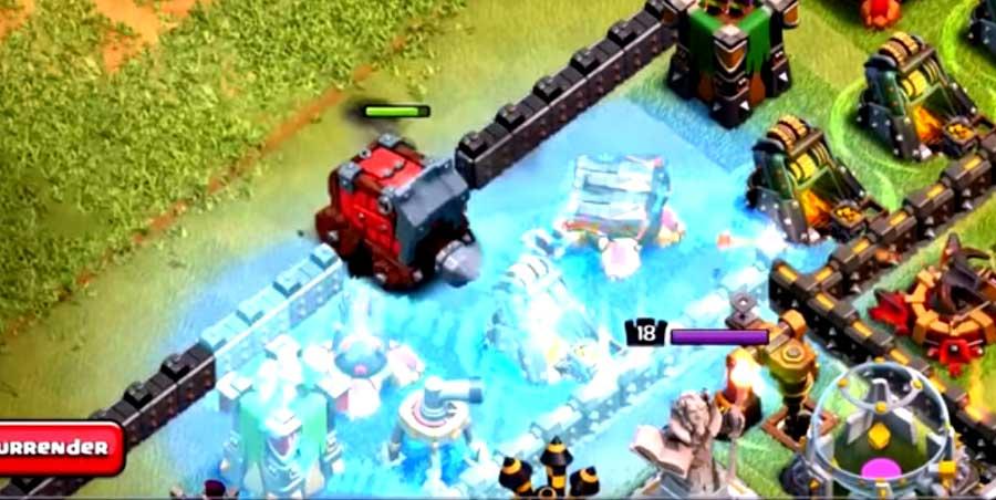 Freeze Spell Wall Wrecker