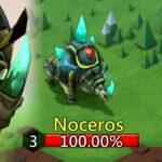 Noceros Monster Hunting Lords Mobile