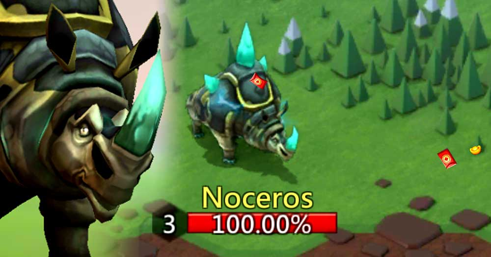Noceros Monster Hunting Lords Mobile