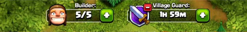 Village Guard and Builders Clash of Clan