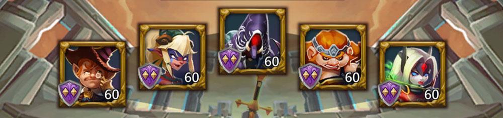 Grim Reaper F2P Lineup