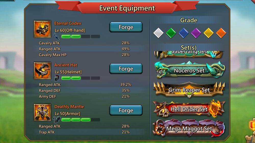 Grim Reaper Gear Event Equipment