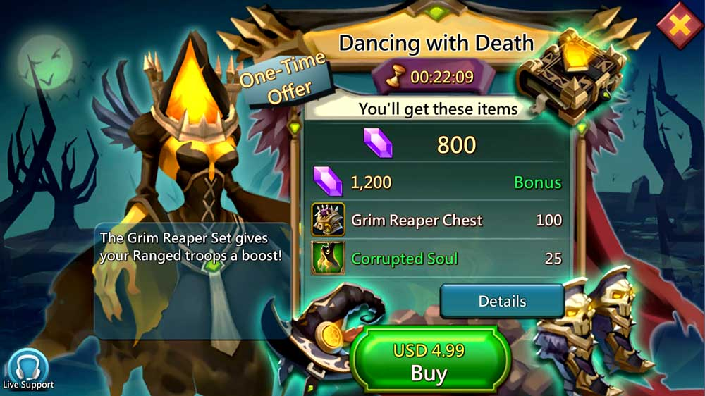 Grim Reaper Paid Pack
