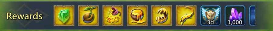Terrorthorn Rewards