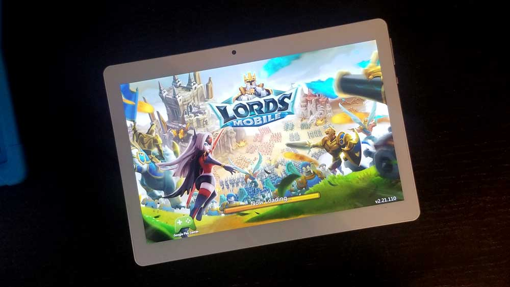 Lords Mobile on K10 Dragon Tablet