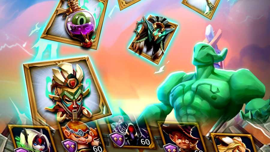 Voodoo Shaman and ATK Heroes Lineup