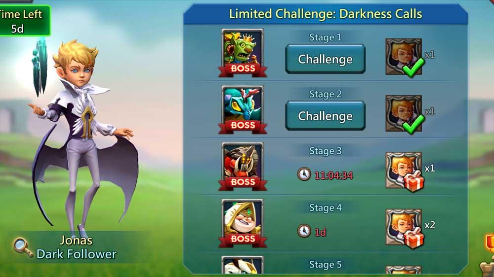 Limited Challenge Dark Follower