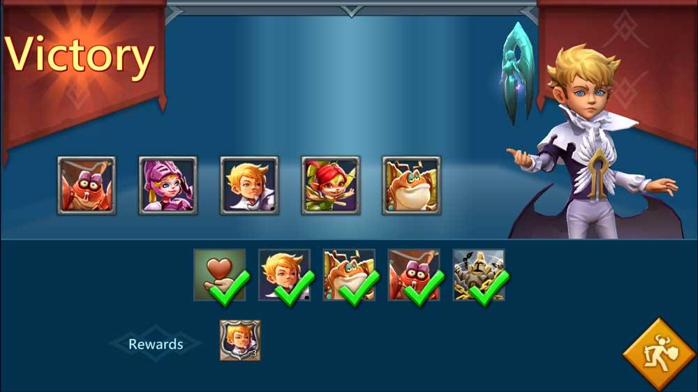 Stage 6 Limited Challenge Dark Follower Lineup