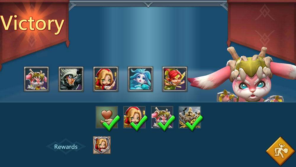 Witch Doll Limited Challenge Stage 1-1